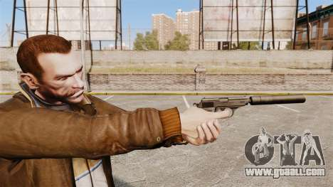 Walther PPK self-loading pistol v1 for GTA 4
