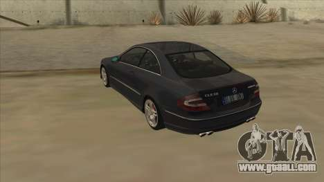 Mercedes-Benz CLK55 AMG 2003 for GTA San Andreas right view