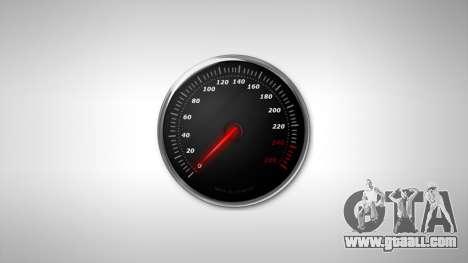 Speedometer AdamiX v6 for GTA 4