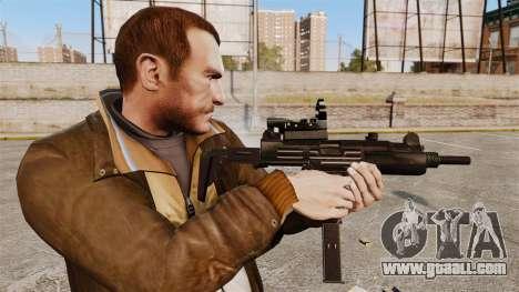 Tactical Uzi v4 for GTA 4