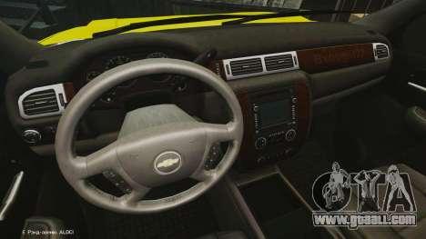 Chevrolet Suburban Los Santos Lifeguard [ELS] for GTA 4
