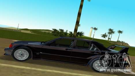 Mercedes-Benz 190E 1990 for GTA Vice City back left view