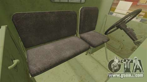 Basic military truck AM General M35A2 1950 for GTA 4 bottom view