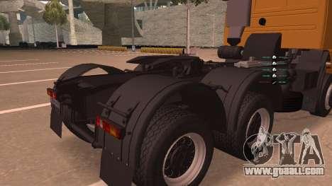 KAMAZ 260 Turbo for GTA San Andreas inner view