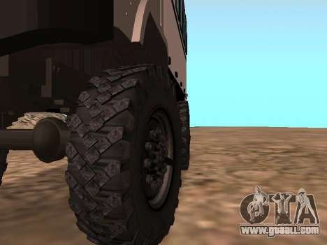 GAZ 66 Watch for GTA San Andreas side view