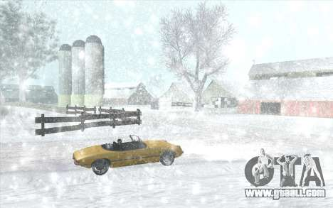 Snow San Andreas 2011 HQ - SA:MP 1.1 for GTA San Andreas sixth screenshot