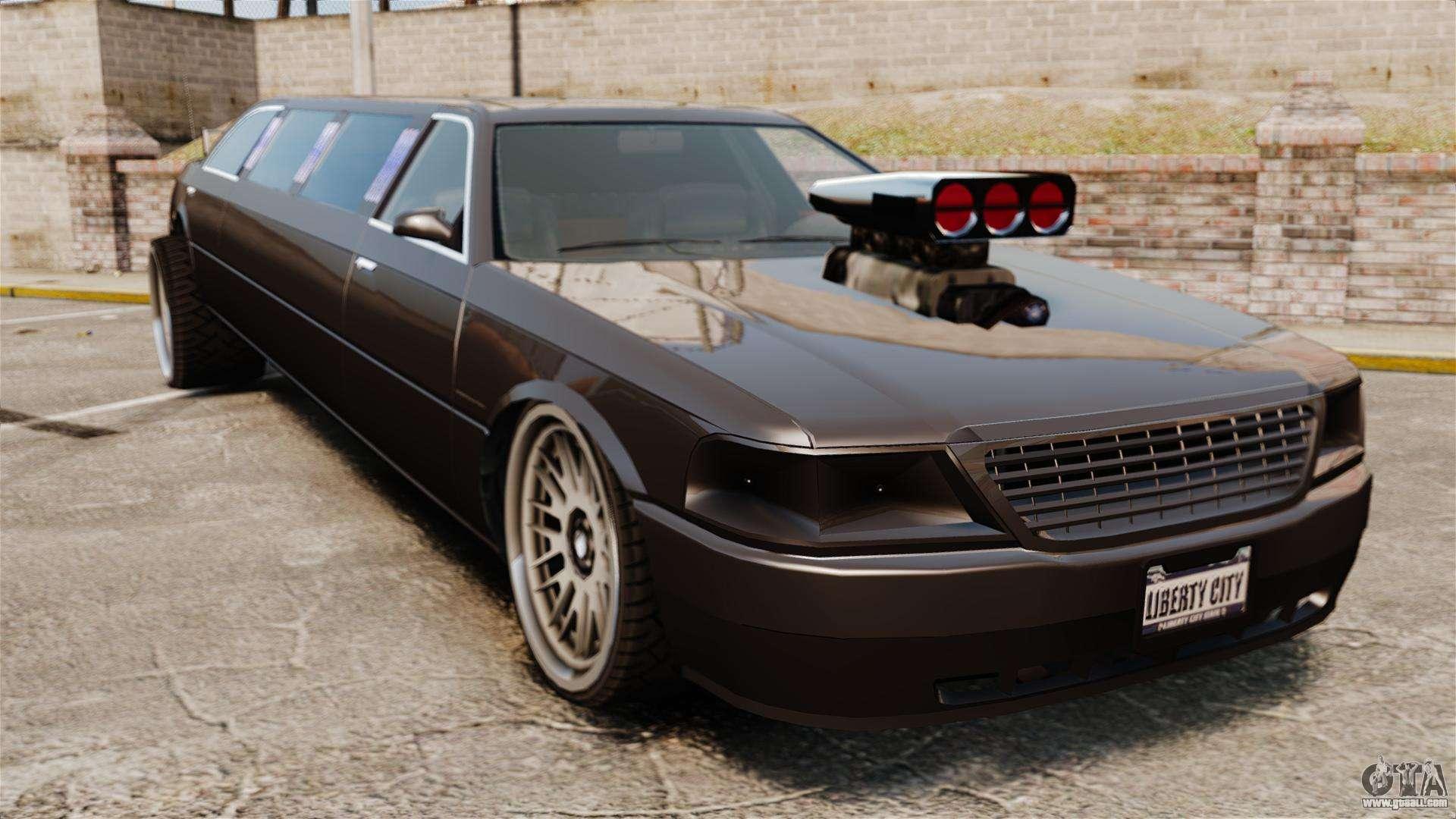 Limo drag racing for GTA 4