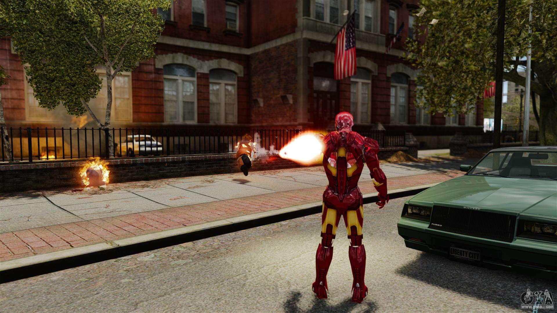 Iron Man IV v 2 0 for GTA 4