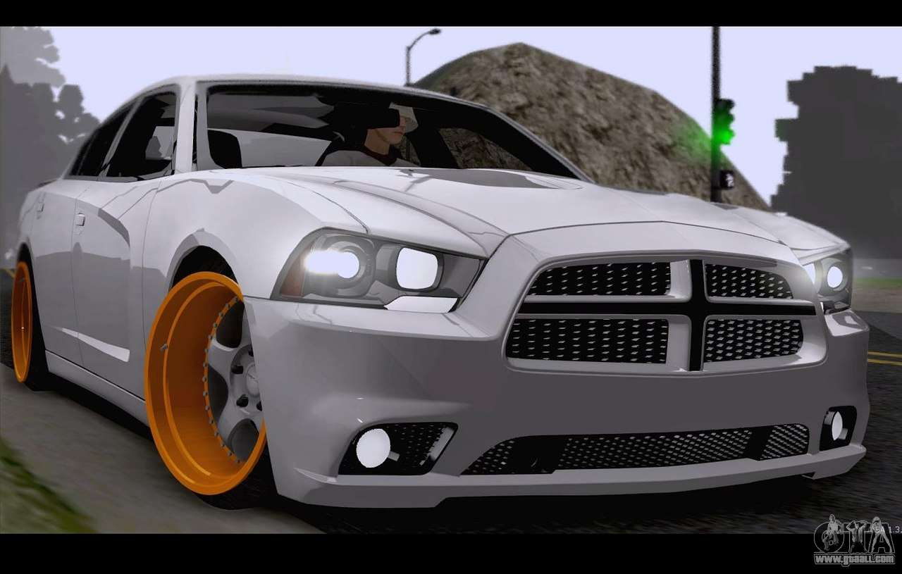 Dodge Charger Srt8 For Gta San Andreas