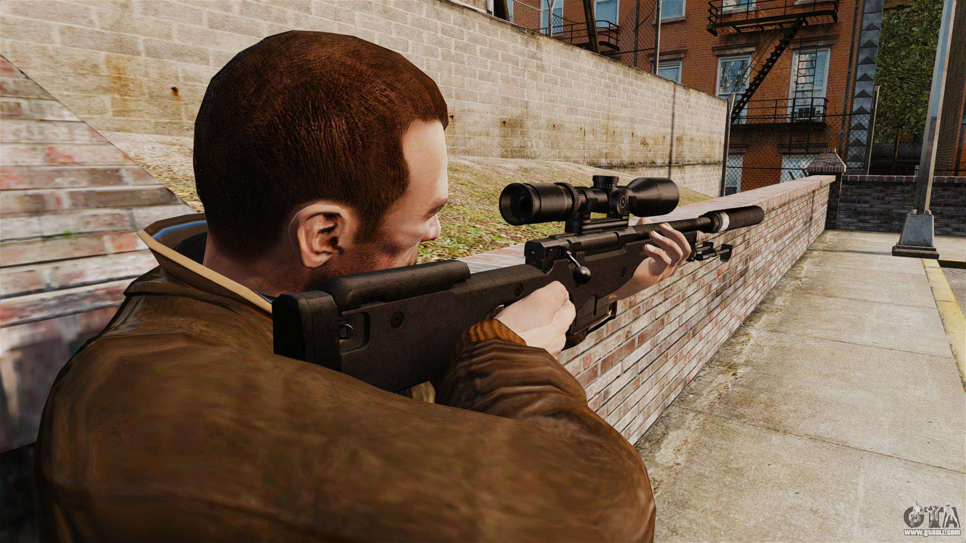 how to get silencer rifle on sniper 4
