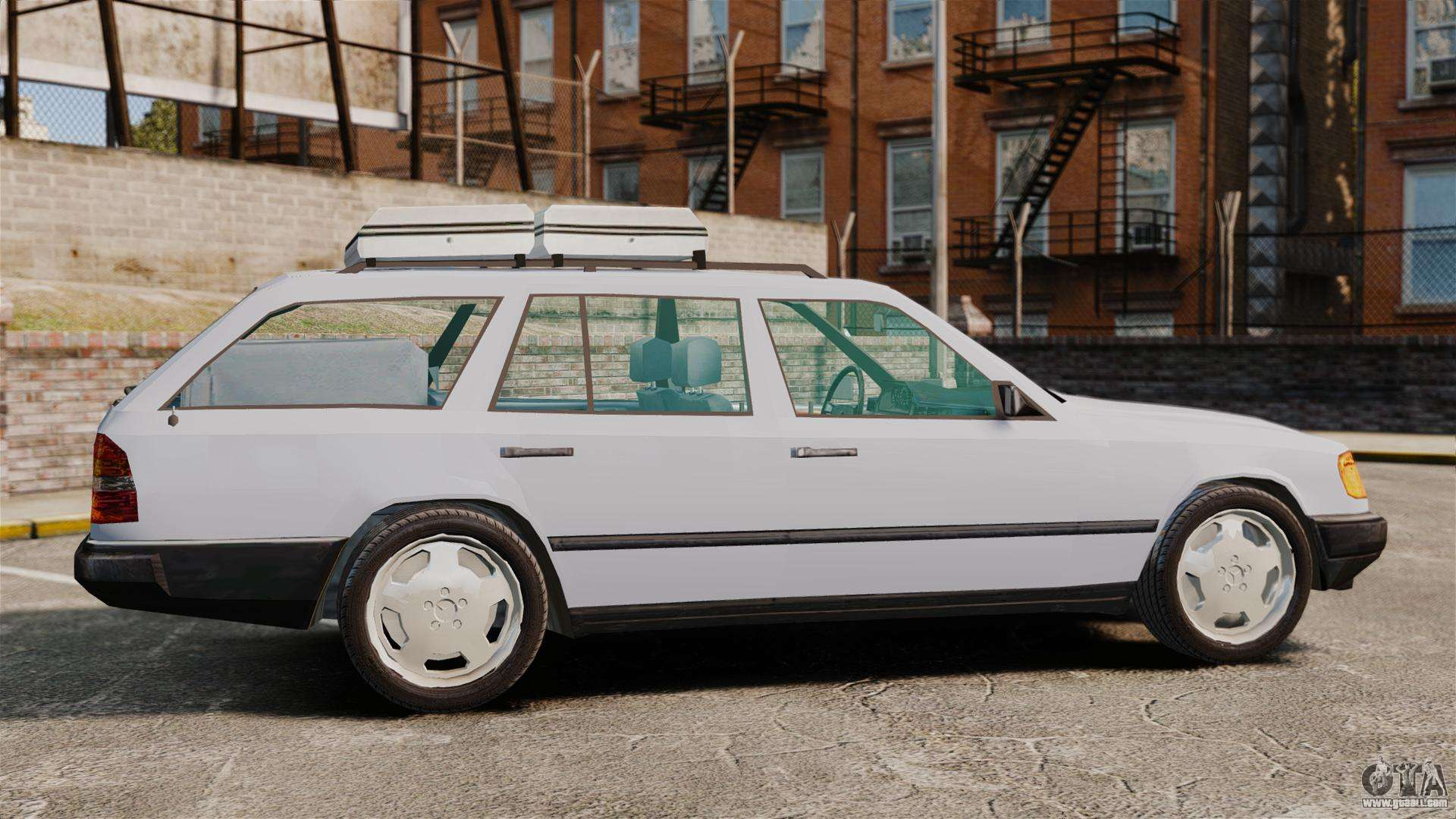 Mercedes benz w124 wagon s124 for gta 4 for Mercedes benz wagons