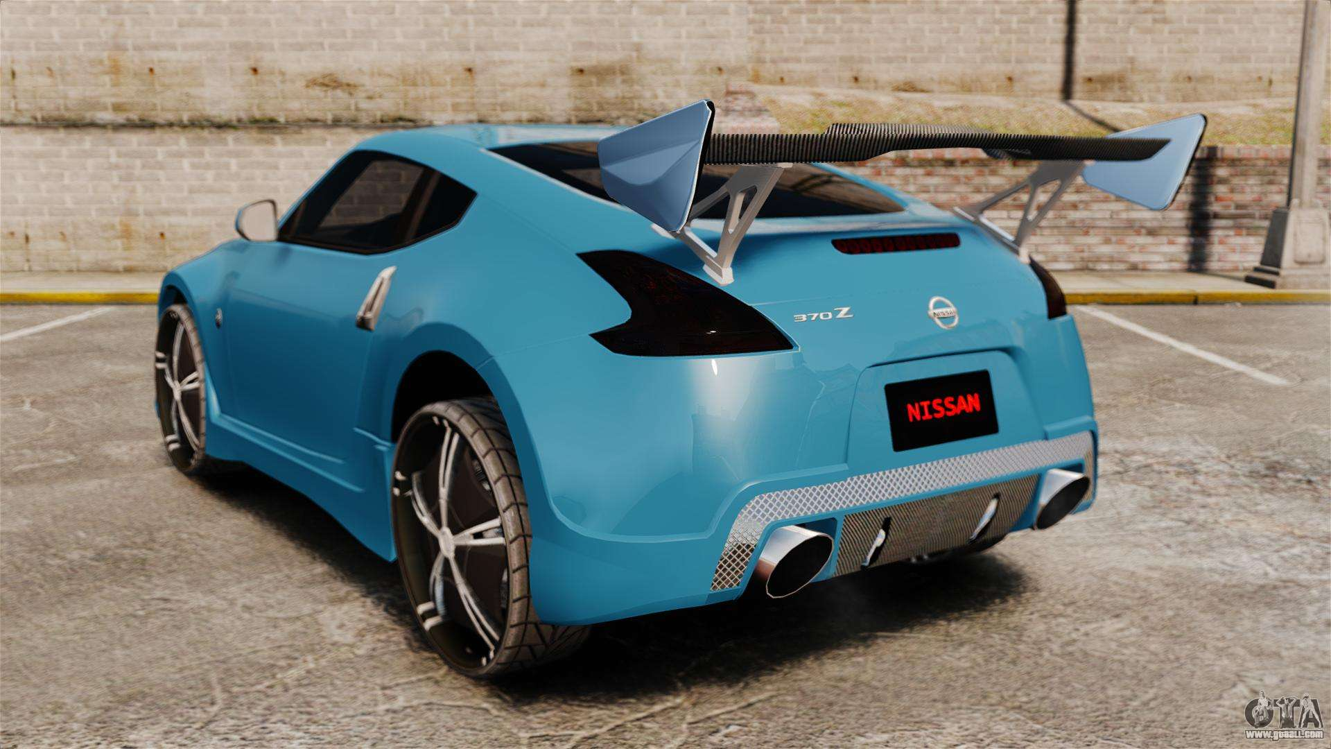 nissan 370z tuning for gta 4. Black Bedroom Furniture Sets. Home Design Ideas