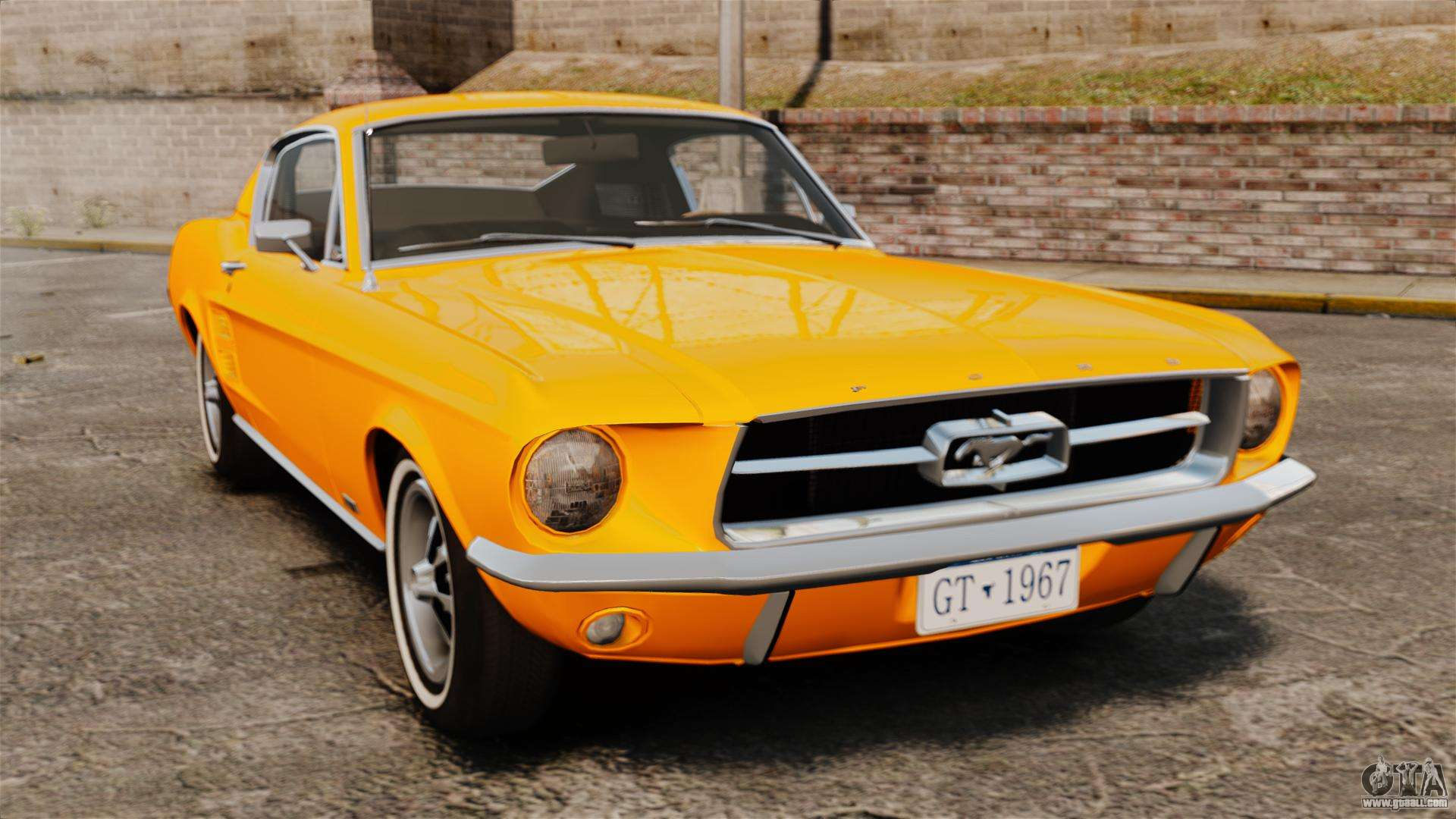 ford mustang 1967 classic for gta 4. Black Bedroom Furniture Sets. Home Design Ideas