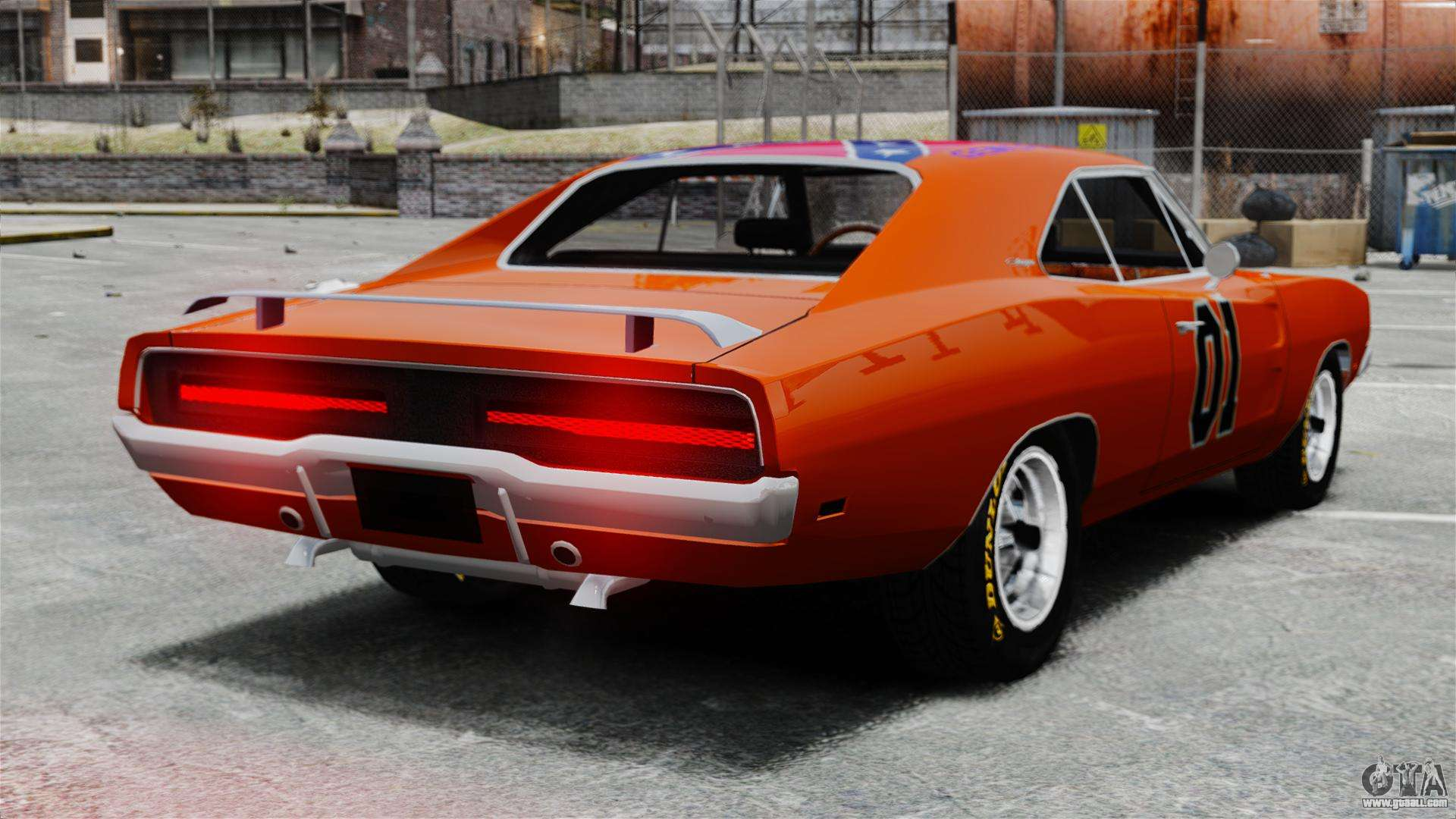 dodge charger 1969 general lee v2 for gta 4. Black Bedroom Furniture Sets. Home Design Ideas