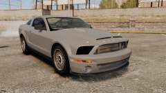 Ford Mustang Shelby GT500 2008 for GTA 4