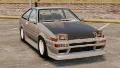 Toyota Corolla GT-S AE86 Trueno for GTA 4