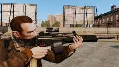 MG36 v3 H&K assault rifle