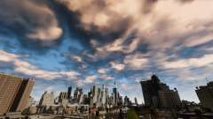 New day and night sky for GTA 4