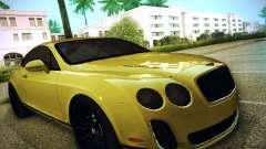 Bentley Continental GT купе for GTA San Andreas