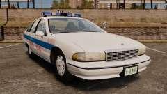 Chevrolet Caprice 1991 [ELS] v1 for GTA 4