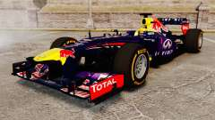 Car, Red Bull RB9 v2 for GTA 4