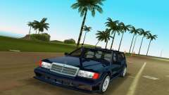 Mercedes-Benz 190E 1990 for GTA Vice City
