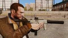 Tactical MP9 submachine gun v3