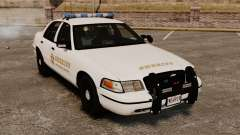 Ford Crown Victoria Police GTA V Textures ELS for GTA 4