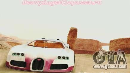 Bugatti Veyron 16.4 Concept for GTA San Andreas