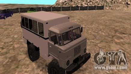 GAZ 66 Watch for GTA San Andreas