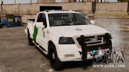 Ford F-150 v3.3 Border Patrol [ELS & EPM] v1 for GTA 4