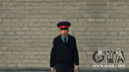 The Captain Of The RUSSIAN MINISTRY Of The INTERIOR for GTA San Andreas