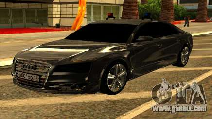 Audi S8 for GTA San Andreas