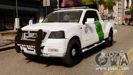 Ford F-150 v3.3 Border Patrol [ELS & EPM] v3 for GTA 4