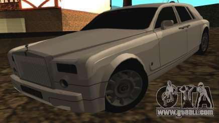 Rolls-Royce Phantom v2.0 for GTA San Andreas