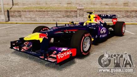 RB9 v6 car, Red Bull for GTA 4