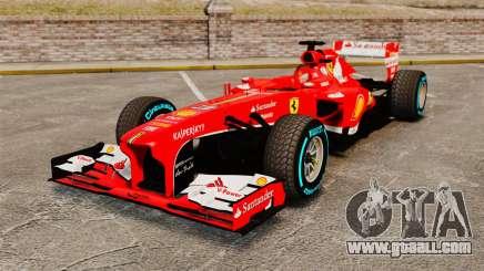 Ferrari F138 2013 v1 for GTA 4