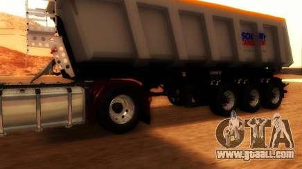 Trailer Schmitz Cargo Bull for GTA San Andreas