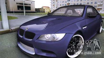 BMW M3 E92 Hamann 2012 for GTA San Andreas