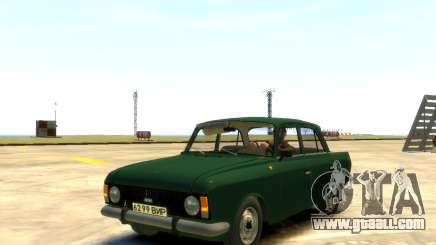 Moskvich 412 for GTA 4