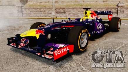 Car, Red Bull RB9 v2 for GTA 4