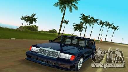 Mercedes-Benz 190E 1990 for GTA Vice City