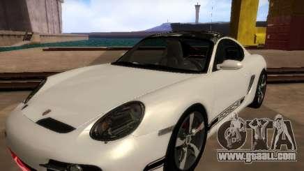 Porsche Cayman R 2007 for GTA San Andreas