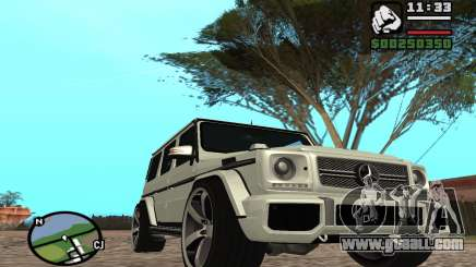 Mercedes-Benz G65 AMG for GTA San Andreas