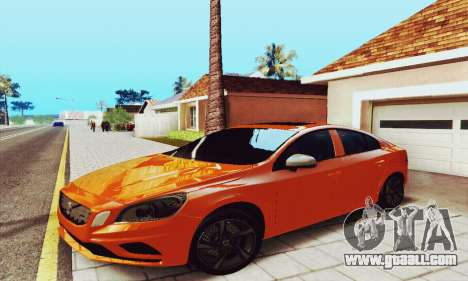 Volvo S60 for GTA San Andreas right view