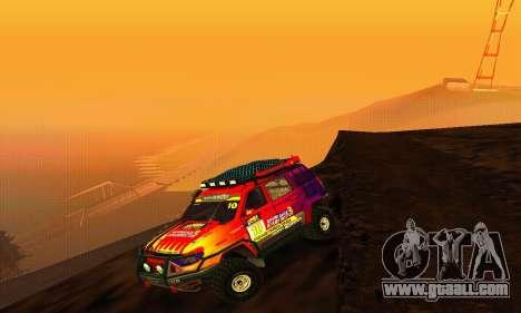 Uaz Patriot Trial for GTA San Andreas back view