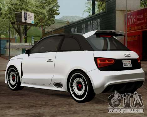 Audi A1 Clubsport Quattro for GTA San Andreas left view