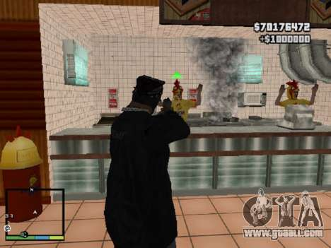 System robberies v1.0 for GTA San Andreas