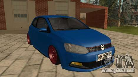 Volkswagen Polo GTi Euro Stance 2012 for GTA San Andreas left view