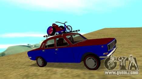 Gaz-24 Volga Fun for GTA San Andreas